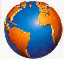 La tierra es azul como una naranja... dans POESIA orange